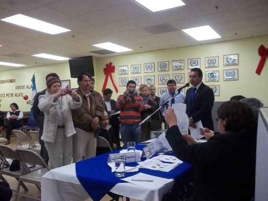 La relación de trabajo entre Asesores de CONAMIGUA en los Estados Unidos con el Consejo Asesor de la institución en Guatemala ha estado marcada por varios desacuerdos. Fotografía: La voz-archivo