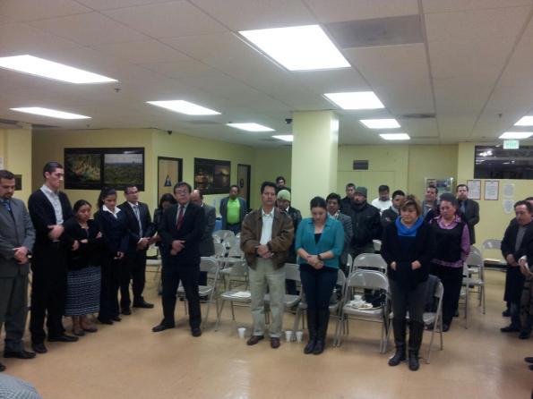 Miembros de grupos comunitarios guatemaltecos piden mejorar atención consular. Fotografía: La Voz