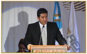 Director Ejecutivo del RENAP, Rudy Gallardo. Fotografía: LA VOZ /RENAP