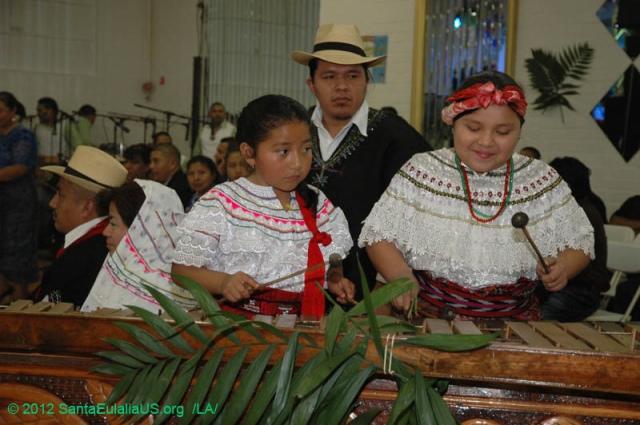 Fiesta de Santa Eulalia en Los Ángeles 2012. FOTOGRAFÍA: LA VOZ-SANTA EULALIA ORG