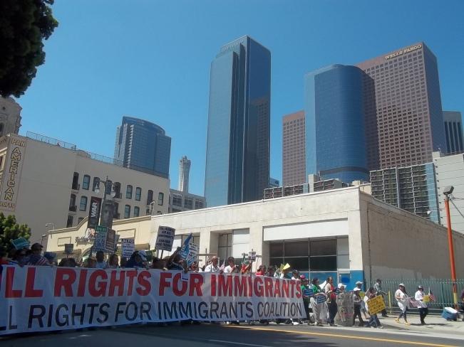 En el Día Internacional del Trabajo pedirán de nuevo la aprobación de la reforma migratoria. FOTOGRAFÍA: LA VOZ-archivo