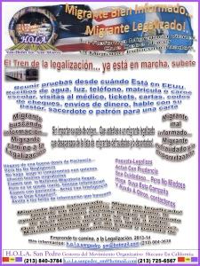 Afiche de la campaña lanzada por H.O.L.A. San Pedro en conjunto con organizaciones guatemaltecas mayas