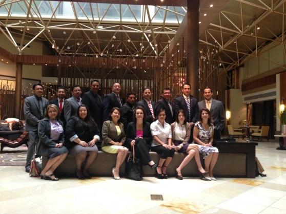 Activistas comunitarios guatemaltecos previo al inicio del cabildeo con congresistas y senadores estadounidenses en Washington, DC, para pedirles su apoyo a la reforma migratoria. Fotografía: La Voz-cortesía de Marvin