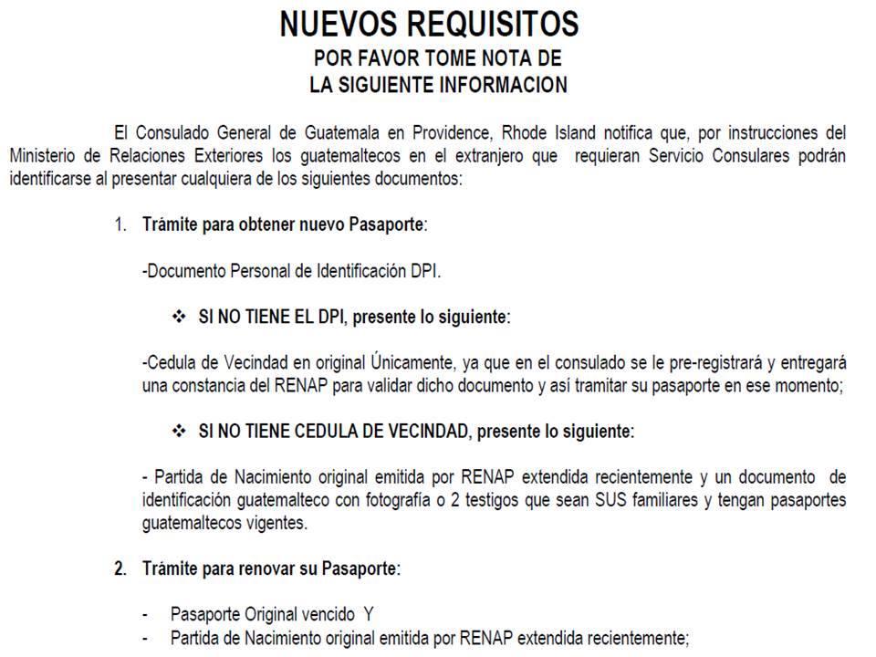 CONSULADO GENERAL DE GUATEMALA EN NUEVA YORK