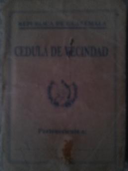 La cédula de vecindad podría perder vigencia como documento oficial de identificación para guatemaltecos en cualquier momento. Fotografía: La voz