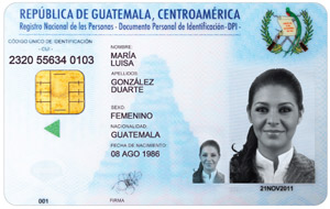 A partir del martes 10 de septiembre, el costo del DPI para guatemaltecos en el extranjero será de US$40.00. Originalmente el costo era de US$50.00. Fotografía: La Voz-renap.gob.gt