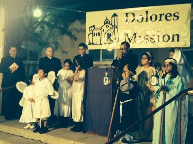 Líderes religiosos y sindicales apoyarán el ayuno que cientos de activistas realizarán a partir de hoy en la Iglesia Misión Dolores, al Este de Los Ángeles. Fotografía: Facebook Iglesia Misión Dolores