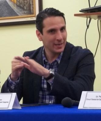 Paul Breire, Presidente de la Comisión del Migrante del Congreso de la República de Guatemala. Fotografía: La Voz-archivo