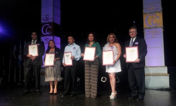 Se reconoció la labor de líderes comunitarios centroamericanos