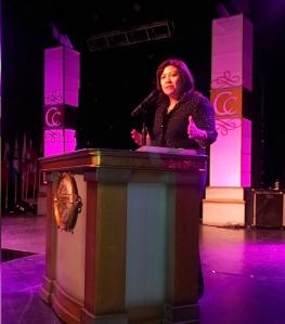 La Senadora Norma Torres reafirmó su apoyo a la reforma migratoria integral. FOTOGRAFÍA: LA VOZ