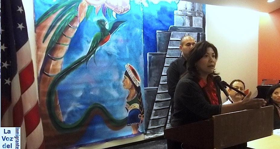 Senadora por el Estado de California, Norma Torres. Fotografía: La Voz