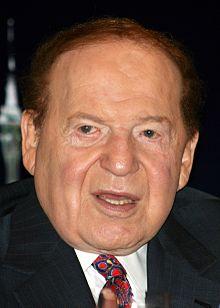 Sheldon Adelson es el Presidente de la Corporación Las Vegas Sands. Fotografía: wikipedia