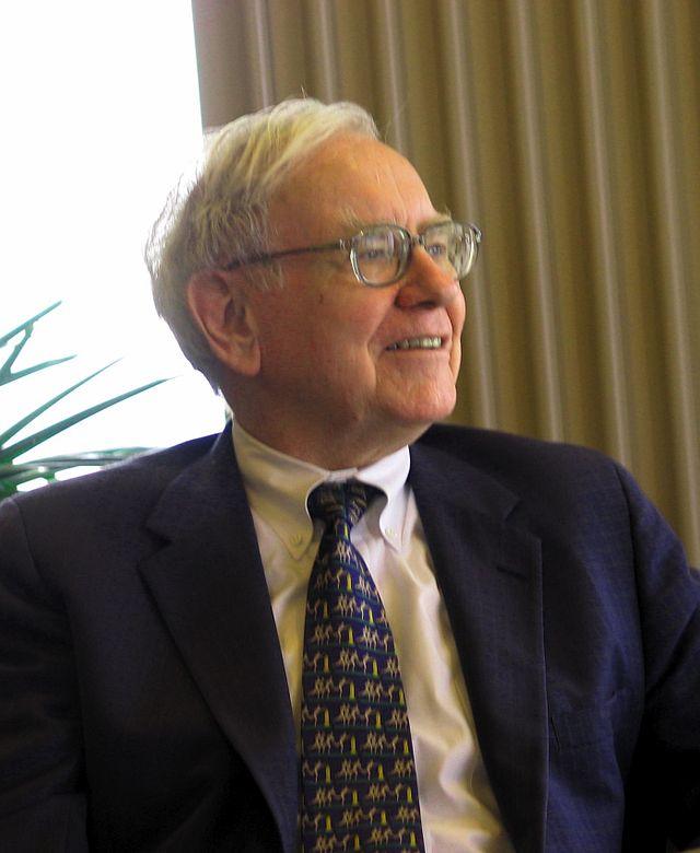 Warren Buffet es el Presidente y Jefe Ejecutivo de Bershire Hathaway. Fotografía: Wikipedia