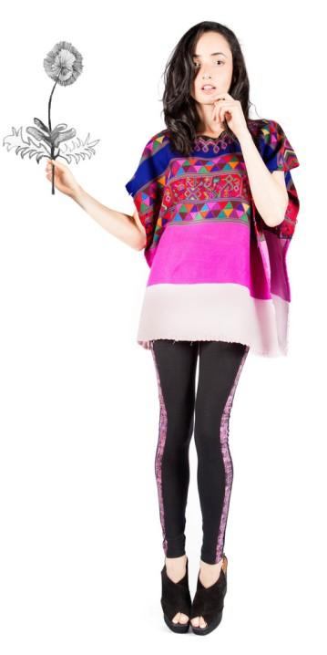 Piezas que forman parte de la nueva colección de modas de la diseñadora guatemalteca, Celina Paiz. Fotografía: La Selva.com