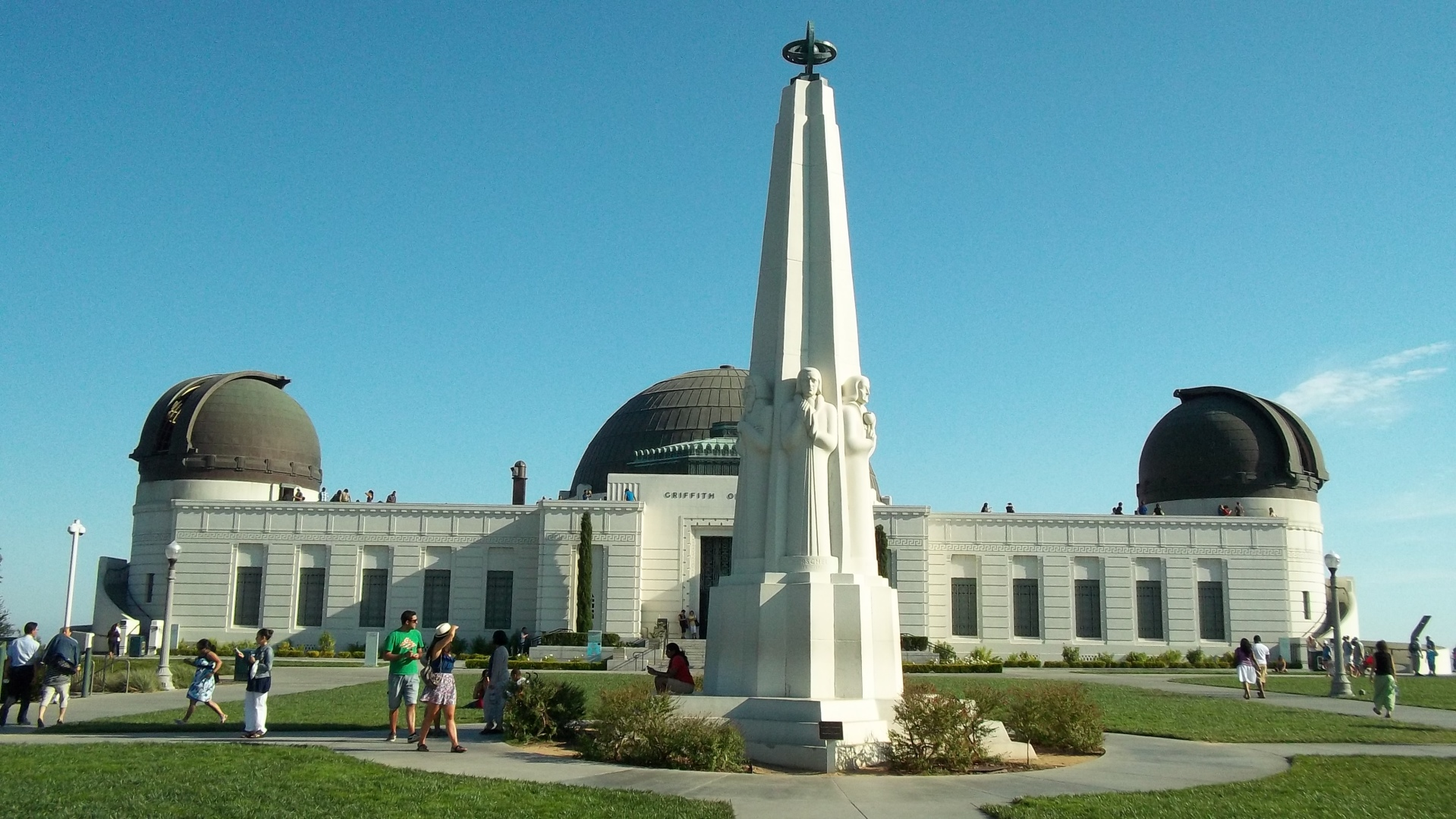 Observatorio ubicado en el Griffith Park. Fotografía: La Voz