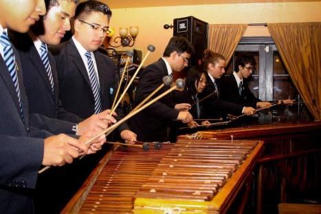 """Se contará con la participación de la Marimba de la Dirección de Educación Física de Guatemala. Fotografía: Facebook """"Semana del Guatemalteco Los Ángeles"""""""