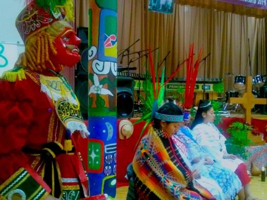 """El 4o. Aniversario del Grupo """"Eterna Juventud Maya"""" contó con la presencia de Princesas representantes de diferentes comunidades mayas guatemaltecas radicas en el Sur de California. Fotografía: La Voz"""