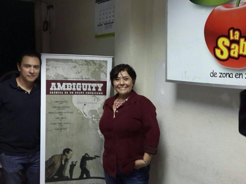 """La guatemalteca Grisel Sandoval es la productora, directora y guionista de """"Ambiguity, crónica de un sueño americano"""". FOTOGRAFÍA: FACEBOOK AMBIGUITY"""