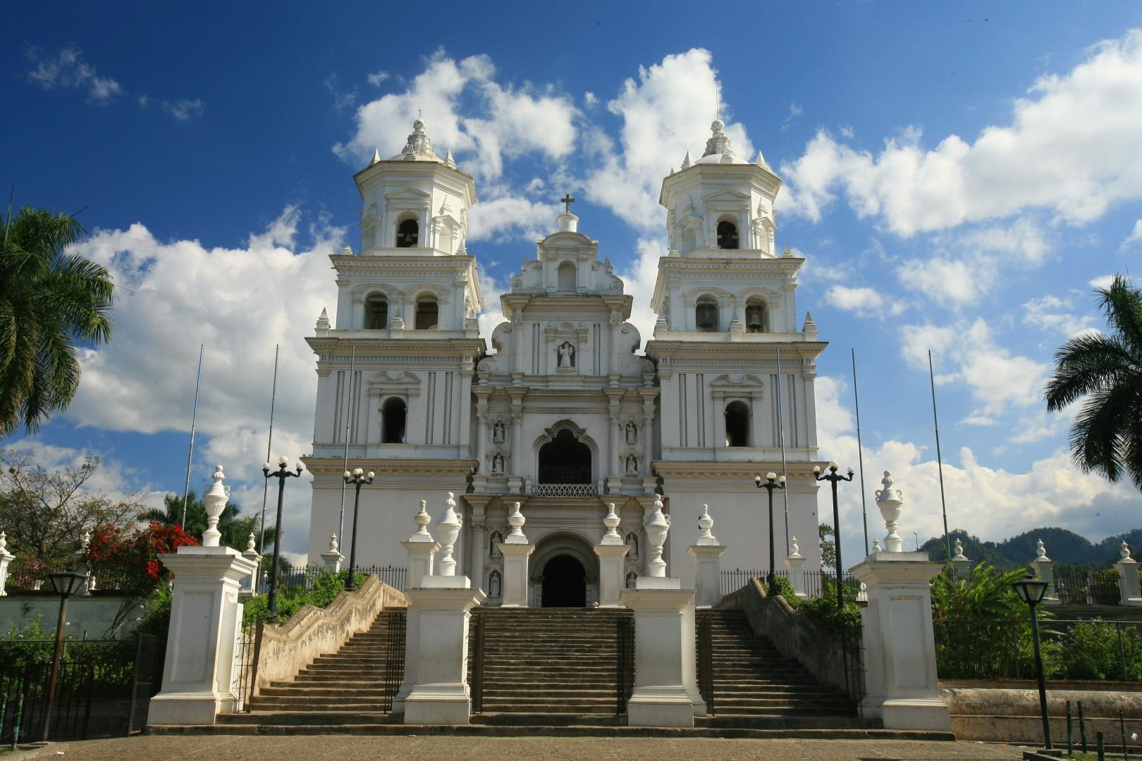 Basílica de Esquipulas, ubicada en Esquipulas, Chiquimula, a 222 Kilómetros al Oeste de la Ciudad de Guatemala. FOTOGRAFÍA: INGUAT