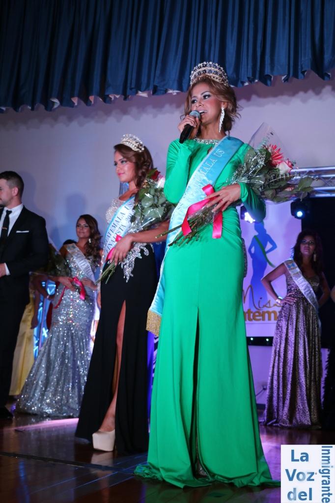 Susan Larios, originaria de Puerto Barrios, Izabal, resultó electa como la representante de la bellleza de la mujer guatemalteca en los Estados Unidos de América durante la II Edición de Miss Guatemala US. Fotografía: MAYNOR VENTURA