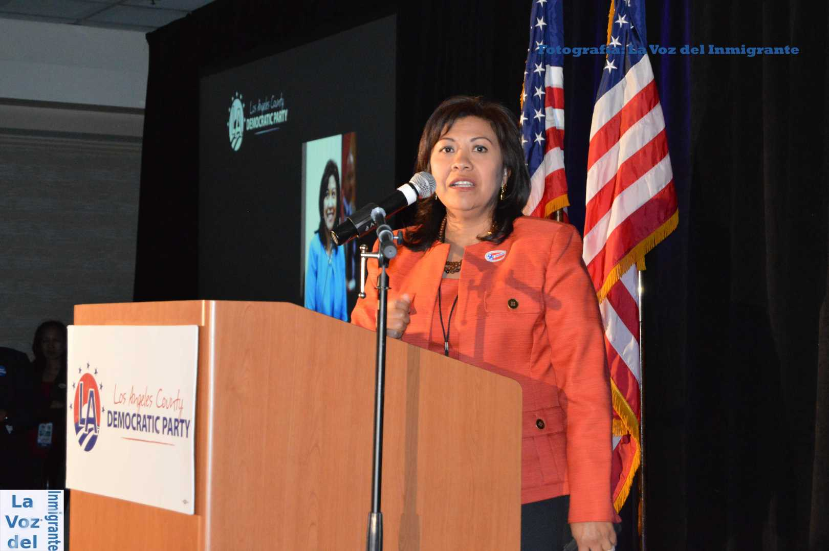 Norma Torres, nacida en Escuintla, Guatemala, es la primera mujer centroamericana en ser electa al Congreso de los Estados Unidos de América. Fotografia: La Voz