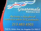 guatemala restaurant logo