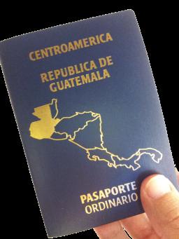 png pasaporte guatemala
